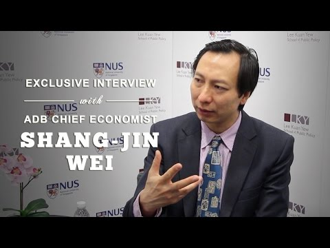 Exclusive Interview with ADB Chief Economist Mr Shang-Jin We