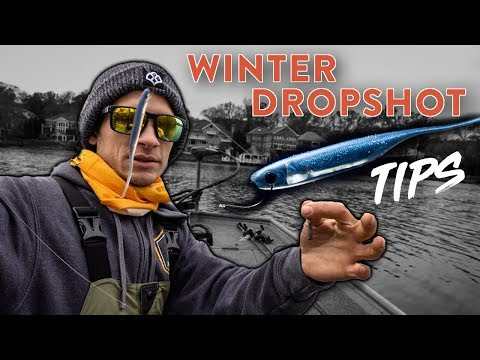 Dropshot Fishing Tips To Catch More Bass In The Winter W/ SBFishingTV