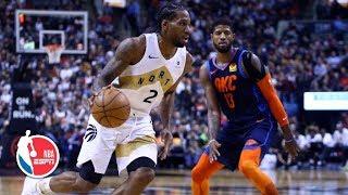 Paul George, Russell Westbrook too much for Kawhi Leonard | Thunder vs. Raptors | NBA Highlights