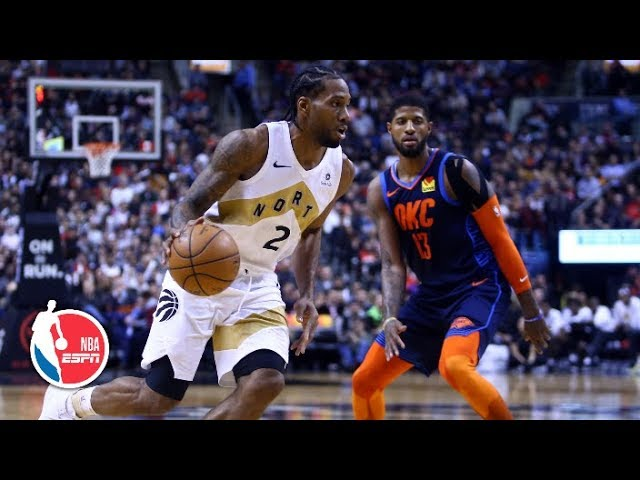 Paul George, Russell Westbrook too much for Kawhi Leonard | Thunder vs. Raptors | NBA Highlights