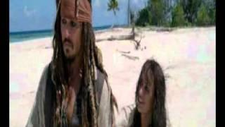 Piratas del Caribe 4 - Jack y Angelica en la isla