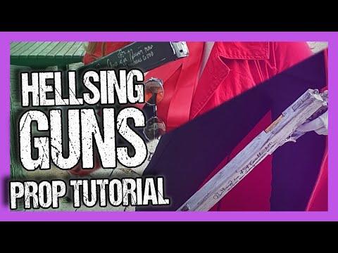Hellsing PROP FOAM GUNS TUTORIAL!!
