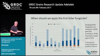 Septoria tritici blotch, leaf rust update - N. Poole | 2017 Grains Research Update | Adelaide