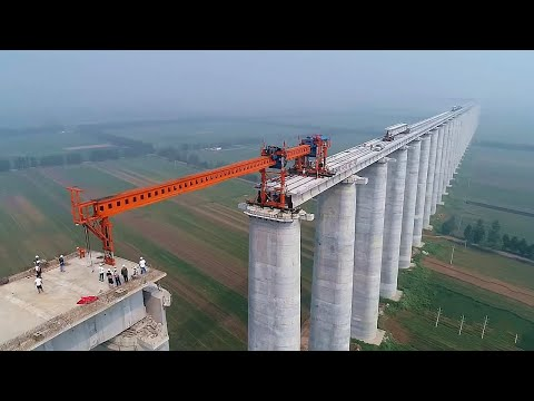 Incredible success of China. America shocked with construction technology
