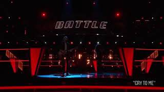 The Voice USA 2018 battles , day 1