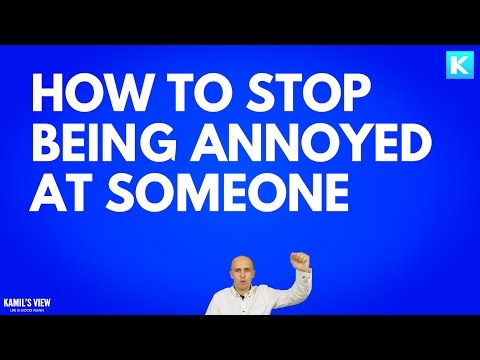 How to avoid getting angry so easily