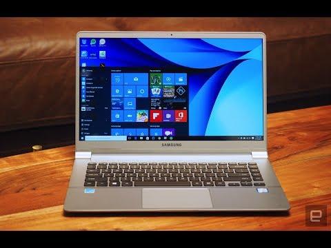 Samsung Notebook 9 Pro   Hands-On   Computex 2017 - اردو -हिंदी
