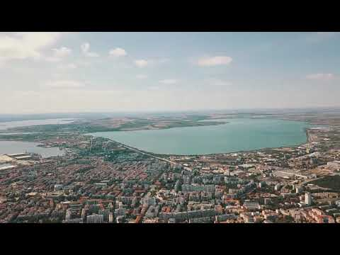 Drone view of Burgas