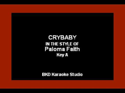 Paloma Faith - Crybaby (Karaoke Version)