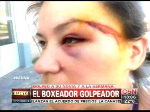 Boxeador Golpeado