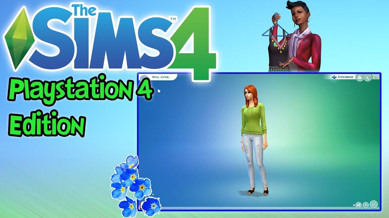 """THE SIMS 4: Playstation 4 – """"Jak się tym steruje?!"""""""
