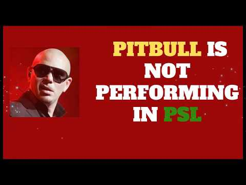 PITBULL apologizes HBL PSL 4 fans for not performing in open ceremony Mp3