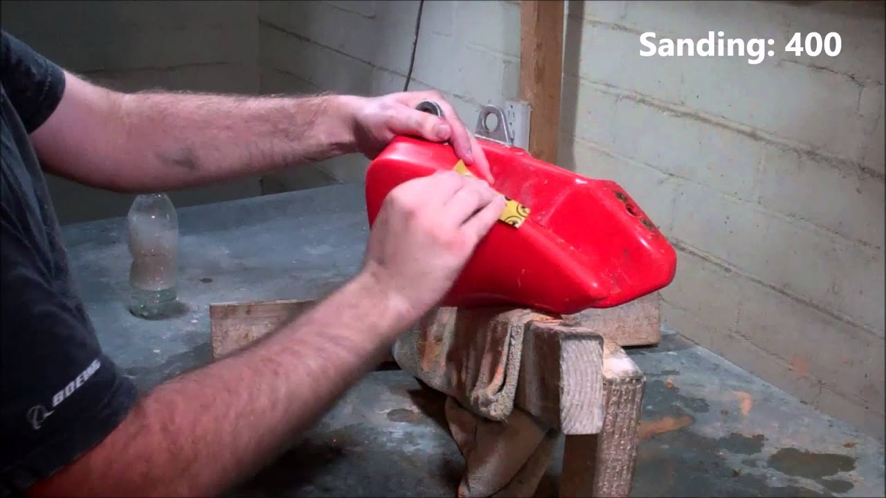 Plastic Fuel Tank Restoration