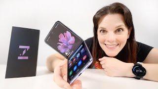 Samsung Galaxy Z FLIP -descubre el POTENCIAL del smartphone PLEGABLE del FUTURO-