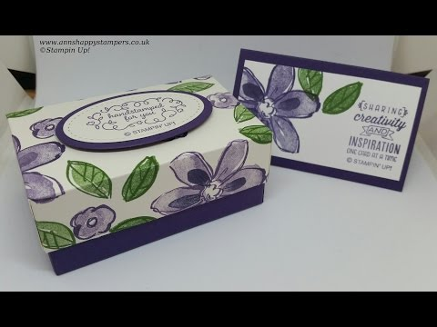 Beautiful Gift Box for 30 Handmade Business Cards