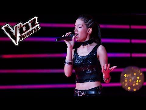 Betzabeth canta 'Nunca me acuerdo de olvidarte' | Recta final | La Voz Teens Colombia 2016