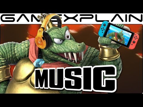 "Smash Bros. Ultimate - We Extended King K. Rool's ""Gangplank Galleon"" Music Track from Today's Blog!"