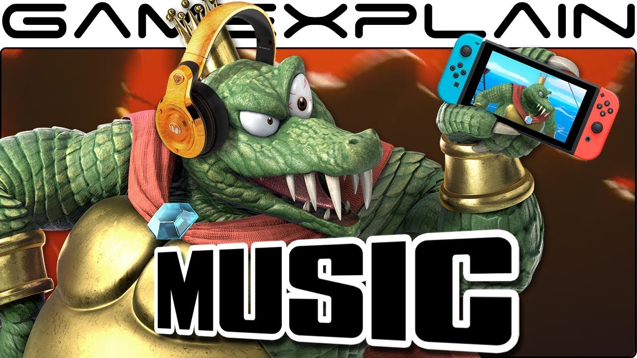 "Smash Bros. Ultimate - We Extended King K. Rool's ""Gangplank Galleon"" Music Track from Today's Blog! #1"