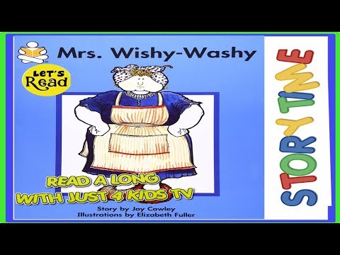 Mrs Wishy Washy Books for kids read aloud!