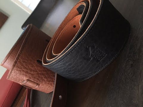 Why I really like Italia Leather Guitar Straps