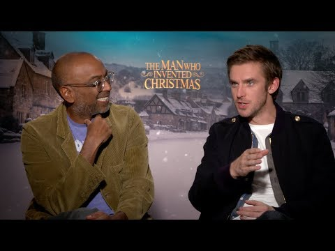 """Stevens and Nalluri Bring Dickens to Life In """"The Man Who Invented Christmas"""""""
