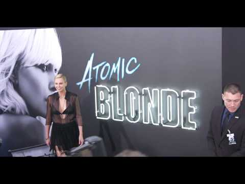 Atomic Blonde:  LA American Premiere red carpet (official video)