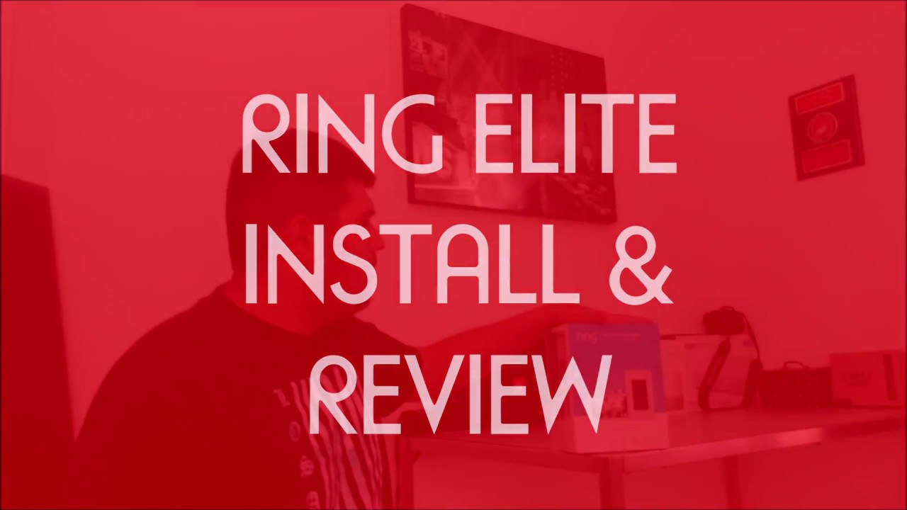 Ring Elite Doorbell Install On Brick And Review Youtube Wiring Diagram For