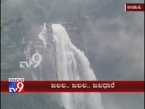 Toodalli Falls: Tourist Attraction Place Near Udupi Surrounded by Greenary