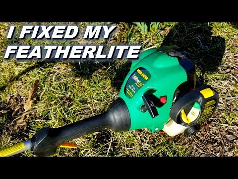 How I got my Featherlite weedeater running.