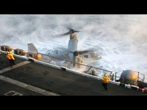 Breaking U.S. Marine Osprey Crashes off Australian Coast 23 rescued 3 Marines Dead August 2017