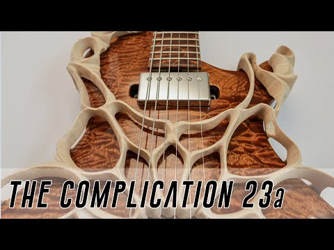 Making a CRAZY Custom Guitar - the Most Complex electric Guitar Ever? Super Edit pt 1