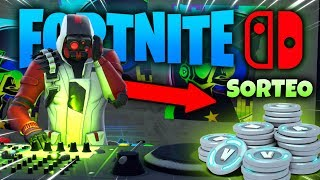 Today I'm the DJ 😎 FORTNITE for Nintendo SWITCH with SKIN DOUBLE HELIX 👉 SWEEPSTAKES