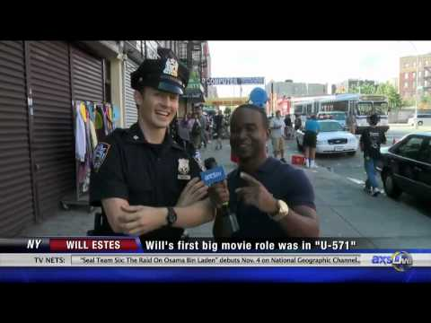 On the set of Blue Bloods with Will Estes - YouTube