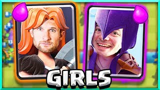 Clash Royale • ONLY USE GIRLS