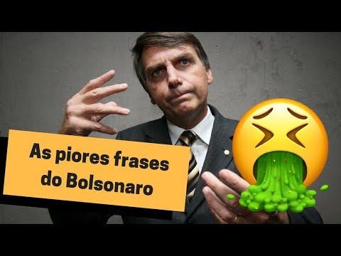 AS PIORES FRASES DO BOLSONARO │ HENRY BUGALHO