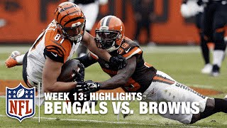 Bengals vs. Browns | Week 13 Highlights | NFL