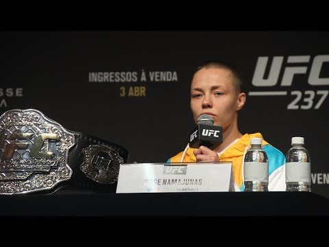 UFC 237 Press Conference - MMA Fighting