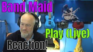 Download Lagu Band Maid - Play (Live)    (Reaction) mp3