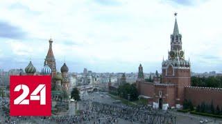 """""""Погода 24"""": погодный коллапс несет в Москву вихрь с периферии британского циклона - Россия 24"""