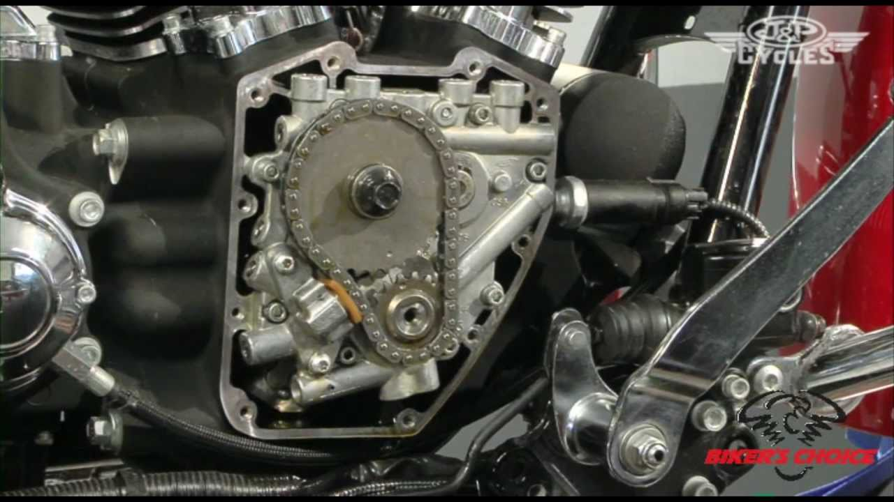 cam replacement on a harley davidson twin cam, including pushrod