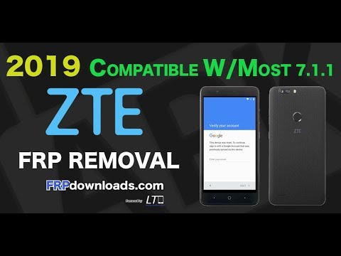 2019 How to FRP bypass ZTE Z982. COMPATIBLE WITH MOST ZTE. NO PC