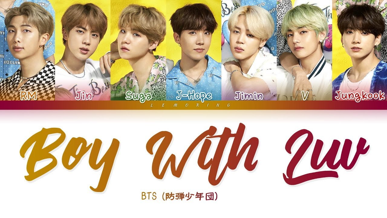 Bts Boy With Luv Japanese Ver 방탄소년단 Boy With Luv