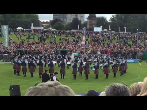 Field Marshal Montgomery Pipe Medley @ Worlds Glasgow 2016