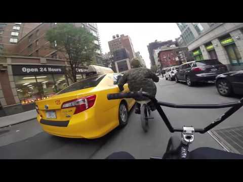 GoPro bmx Bike Riding in NYC 3  2016 - HD