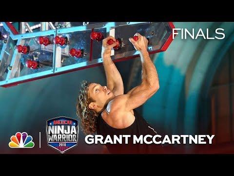 Grant McCartney at the Los Angeles City Finals - American Ninja Warrior 2018