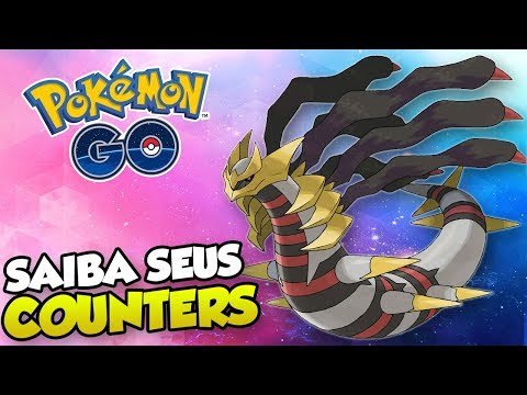 COUNTER GIRATINA (ORIGINAL E ALTERADA)! MAR/19  - Pokémon GO | PokeDicaS thumbnail