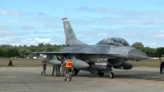 Shaw AFB F-16 SEAD Mission
