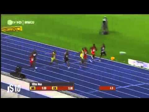 Aubameyang Vs Bolt