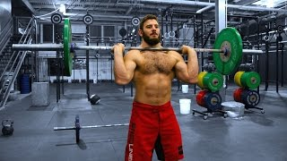 Mat Fraser- CrossFit Tabata(Mathew Fraser training- Mat demonstrates a CrossFit style Tabata workout while listening to