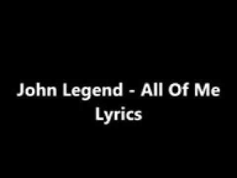 Cara Menghapal Lagu All Of Me